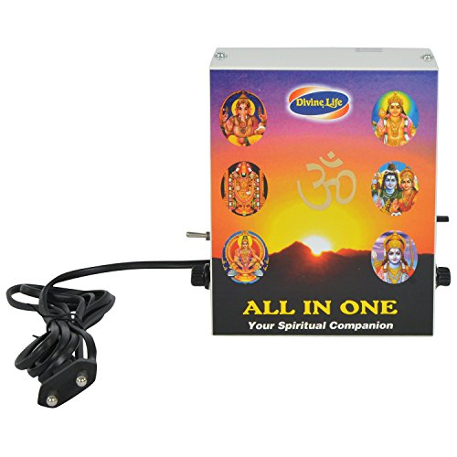 Pooja Chanting Box All in One - Mantra Chanting & Devotional Songs Player  available at amazon for Rs.2150