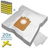 XXL PACK - 20 Duftstäbchen + 20 Staubsaugerbeutel geeignet für ROSSMANN R 040, R040