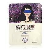 Dampf-Augen-Maske, Lavendel-Dampf-heiße Augen-Masken-Augen-Sorgfalt-Zusätze heizen schnell Feuchtigkeit-Augen-Maske Portable Einzelnutzung