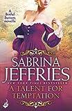 A Talent for Temptation: A Sinful Suitors Novella
