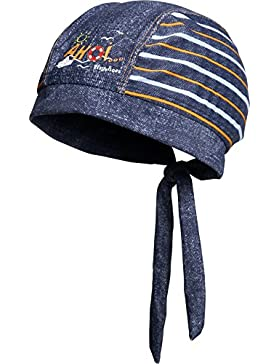 Playshoes Jungen Mütze Kopftuch, Bademütze Ahoi mit Uv-Schutz