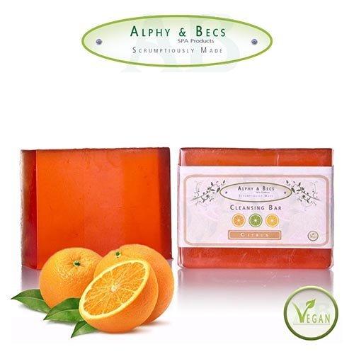 Jabón de glicerina con aromas cítricos
