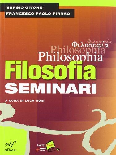 Philosophia. Con seminari. Per i Licei e gli Ist. magistrali. Con DVD-ROM: 1