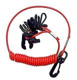 Kit 7 chiavi chiave di sicurezza motore laccio a spirale e...