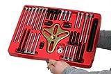 Outils de cuisson 46pièce Harmonique Extracteur de vilebrequin balance Extracteur Gear Outil de roue de direction