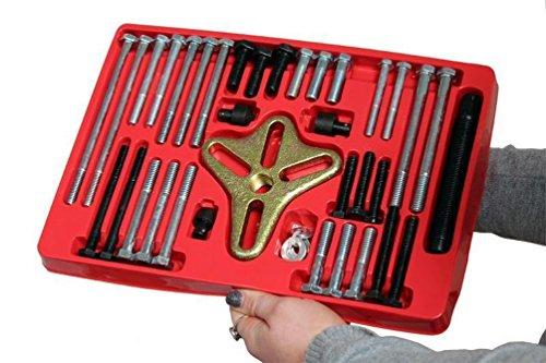 Backen Werkzeuge 46pc harmonische Abzieher Set Kurbelwelle Balance Lockvogel Gear Schwungräder Lenkung Werkzeug