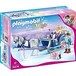 PLAYMOBIL Magic Trineo con Pareja Real