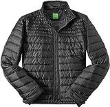 BOSS Green Herren Jacke Jack Modisches Langarmoberteil Uni & Uninah, Größe: 52, Farbe: Schwarz