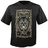 Clutch - All Seeing Owl - T-Shirt Größe L