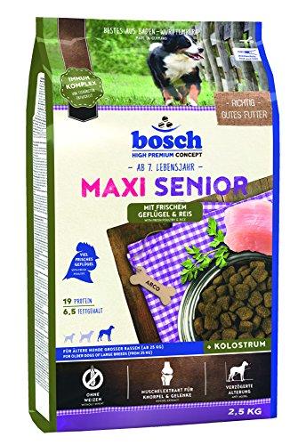 bosch Hundefutter Maxi Senior Geflügel & Reis 2,5 kg