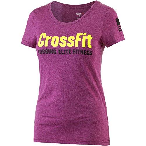 Reebok Damen T-Shirt rosa M (Reebok Rosa T-shirt)