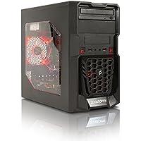 Zoostorm Quest Desktop PC - (Black) (AMD A8 7650K 3.3 GHz Processor, 8 GB RAM, 1 TB HDD Plus 120 GB SSD, Windows 10 Home)