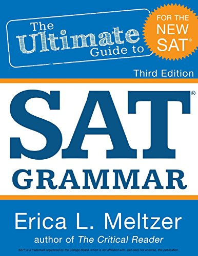 Pdf download 3rd edition the ultimate guide to sat grammar ebook 4th edition the ultimate guide to sat grammar erica l meltzer on amazon com free shipping on qualifying offers the fourth edition of the ultimate guide to fandeluxe Gallery