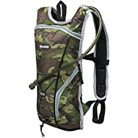 Woodside 2 Litre Hydration Pack/Backpack Bag Running/Cycling with Water Bladder/Pockets