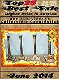 Top25 Best Sale - June 2014 - Antique Vintage Collectible Candlestick (English Edition)