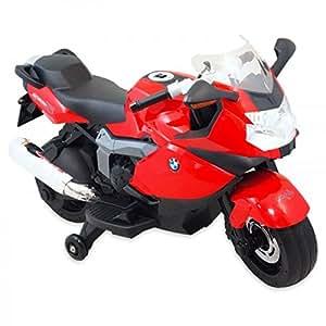 BMW K1300enfants moto moto moto électrique enfant véhicule neuf Licence Rouge