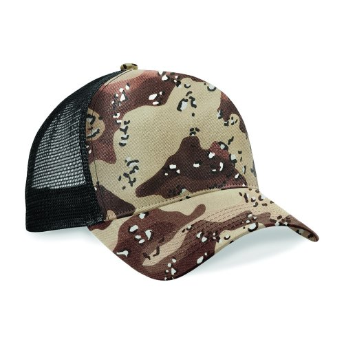 Beechfield - Casquette camouflage rétro - Homme (Taille unique) (Camouflage désert)