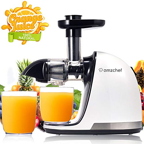 AMZCHEF Slow Juicer BPA-frei Ent...
