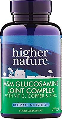 Higher Nature MSM Glucosamine Joint Complex Pack of 240 from Higher Nature