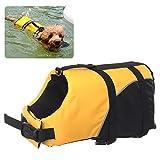REXSONN® Float Coat Hundeschwimmweste Schwimmweste Hunderettungsweste Rettungsweste Hundeweste Warnweste dog