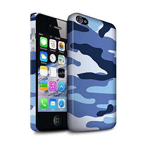 Clipser Matte Coque de Stuff4 / Coque pour Apple iPhone X/10 / Vert 3 Design / Armée/Camouflage Collection Bleue 2