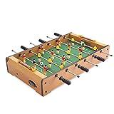 FORYOURS Mini Tischplatte Tischkicker Tischbillard, Tischfußball Tisch - tragbarer Mini Tischfußball/Fußballspiel für Erwachsene und Kinder