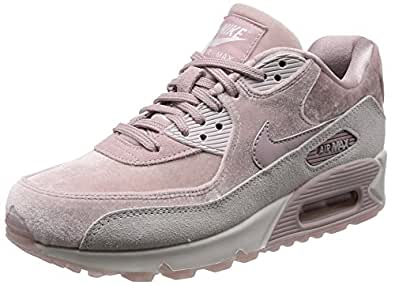 Nike Damen WMNS Air Max 90 Lx Gymnastikschuhe, grau