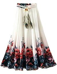 155cd781108 Shoponbit Presents Royal creape Multi Color Long Skirt for Women in Ethnic  wear BC32
