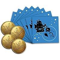 Pirata Hada De Los Dientes ~ 8 Sobres & 4 Chocolate Monedas