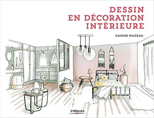 Dessin en décoration intérieure par Karine Mazeau