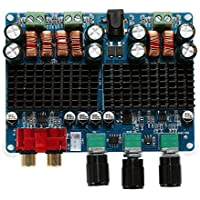 WINGONEER TPA3116 2x50W + 100W 2.1 Dual Channel Power Amplifier Amplificador de canales digitales Potencia del subwoofer Junta DC 12V-26V
