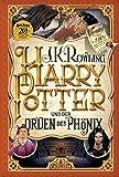 Harry Potter und der Orden des Phönix (5. Band, Gebunden Ausgabe) + 1x original Harry Potter Button