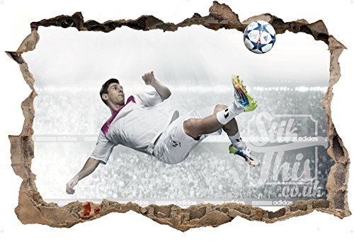 Stik This Lionel Messi Barcelona 7Argentinien High Qualität Full Farbe Fußball Wandtattoo