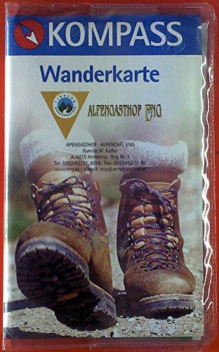 Kompass Wanderkarte. Karwendelgebirge. Wander-, Rad- und Skitourenkarte, Lexikon 26. 2 Faltkarten. -