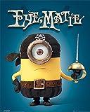 Minions - Eye Matie - Stuart, Kevin, Bob - Film Mini Poster Druck - Größe 40x50 cm