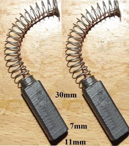 Price comparison product image CARBON BRUSHES HENRY GEORGE NUMATIC VACUUM D21004N B21004N 205050 205062 PAIR-E5