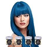 La Riche Directions Haartönung 4x 88ml (Denim Blue - Blau)