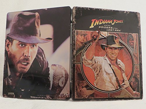 Indiana Jones: Raiders of the Lost Ark – Limited Edition Steelbook – Futurepak – Novobox Edition – Geprägt – Blu-ray [Blu-ray] - 5