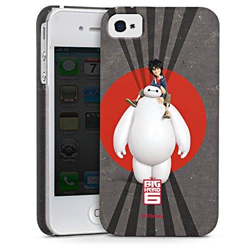 Apple iPhone X Silikon Hülle Case Schutzhülle Disney Baymax und Hiro Merchandise Zubehör Premium Case glänzend