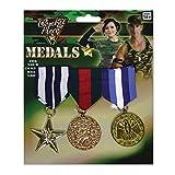 Bristol Novelty ba584Militär Medaille, One size