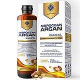 MOUNTAINOR MOROCCAN ARGAN HAIR GROWTH OIL 200ML, MULTIPURPOSE MAGICAL OIL/SERUM WITH PURE 14