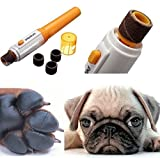 #9: Pets Empire Grinder Clipper Nail Toe Trimmer Pet Dog Cat Electric Grooming Scissors Tool Care by petpedicure