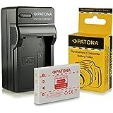 Cargador + Batería EN-EL5 para Nikon Coolpix 3700 | 4200 | 5200 | 5900 | 6000 | 7900 | P3 | P4 | P80 | P90 | P100 | P500 | P510 | P520 | P5000 | P5100 | S10