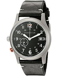 Impulso de hombre 1m-sp60b2b Pathfinder III negro reloj de cuarzo analógica Swiss