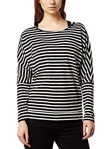 O 'Neill 657160–9900Jack 's Base Shirt Damen black aop w/ white