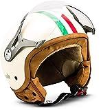 Soxon SP-325 'Imola' · Jet-Helm · Motorrad-Helm Roller-Helm Scooter-Helm Bobber Mofa-Helm Chopper...