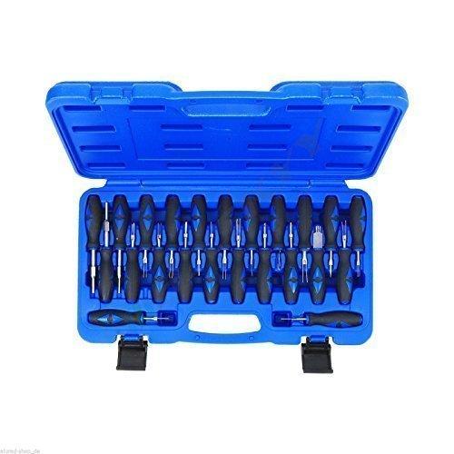 Preisvergleich Produktbild 23-tlg Auspinwerkzeug Entriegelungswerkzeug Klimasensoren Radio Navi PCD ABS