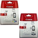 Canon Original Schwarz & Farbe XL Hohe Kapazität Tintenpatronen für Canon Pixma mx495Drucker