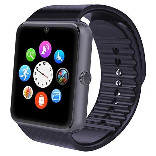Smart Watch, Willful® Smartwatch per Android iOS Bluetooth Fitness Tracker Watch con SIM Slot Fotocamera Orologio Intelligente Universale per iPhone Samsung Huawei per Outdoor Running Sport Donna Uomo