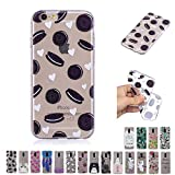 V-Ted Coque Apple iPhone 6S Plus 6 Plus Donut Coeur Silicone Ultra Fine Mince Bumper...